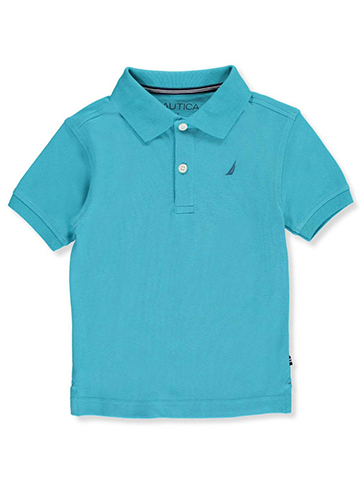 Nautica Little Boys' Toddler Pique Polo (Sizes 2T – 4T) - CookiesKids.com