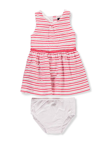 Nautica Baby Girls' Dress with Diaper Cover - CookiesKids.com