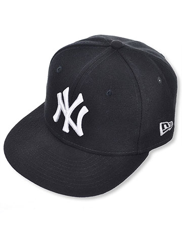 New Era 5950 New York Yankees Fitted Cap (Youth Size 6 ½) - CookiesKids.com
