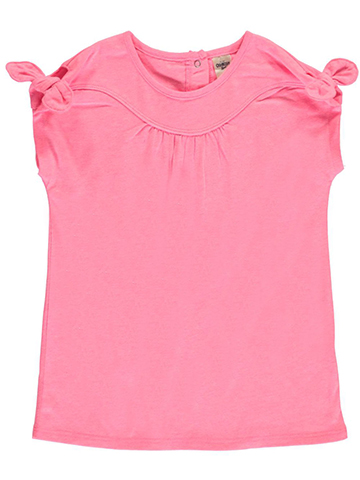 "OshKosh Little Girls' Toddler ""Seamed & Tied"" Top (Sizes 2T – 4T) - CookiesKids.com"