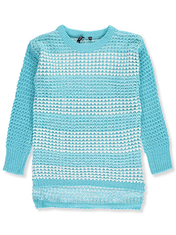 Poof Big Girls' Sweater (Sizes 7 – 16) - CookiesKids.com