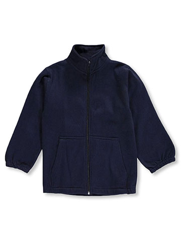 Premium Authentic Schoolwear Little Boys' Zip-Up Sweatshirt (Sizes 3 – 7) - CookiesKids.com