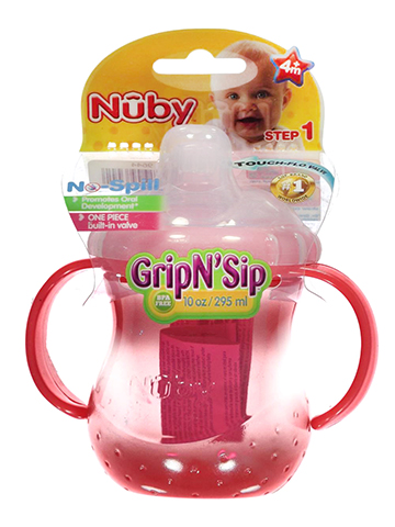 Nuby Spout Sipper (10 oz.) - CookiesKids.com