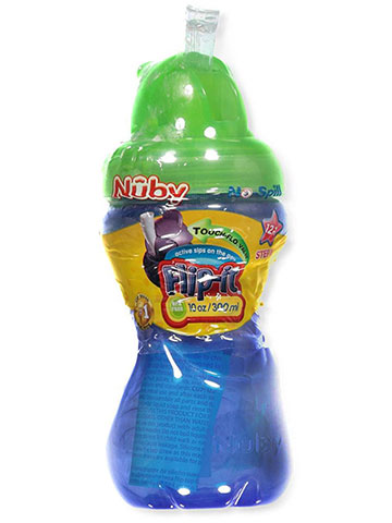 Nuby Flip-It Bottle (10 oz.) - CookiesKids.com