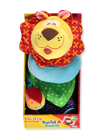 Nuby Build-A-Buddy Activity Plush - CookiesKids.com
