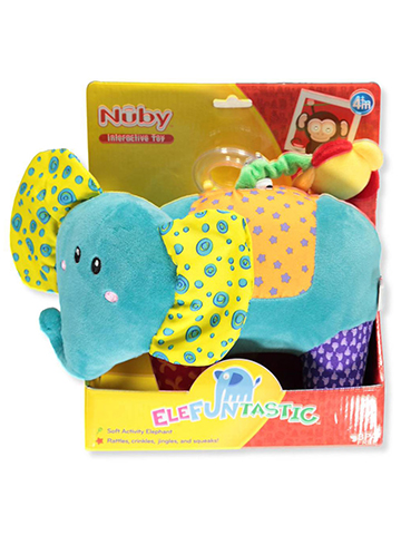 Nuby Elefuntastic Activity Plush - CookiesKids.com
