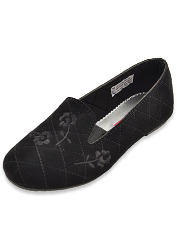 Rachel Girls' Kensington Smoking Slippers (Toddler Size 12) - CookiesKids.com