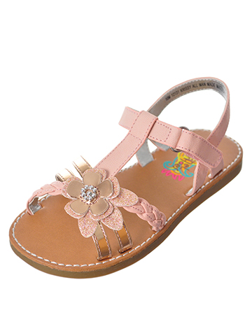 Rachel Girls' Krissy Sandals (Sizes 6 – 12) - CookiesKids.com