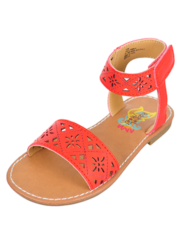 Rachel Girls' Carmela Sandals (Sizes 6 – 12) - CookiesKids.com