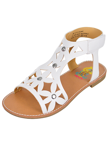 Rachel Girls' Delmar Sandals (Sizes 6 – 12) - CookiesKids.com