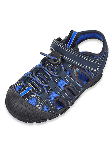 Scott David Boys' Lucas Sport Sandals (Sizes 5 – 10) - CookiesKids.com