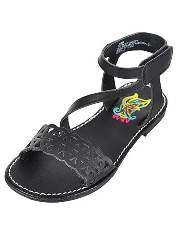 Rachel Girls' Valery Sandals (Sizes 6 – 12) - CookiesKids.com