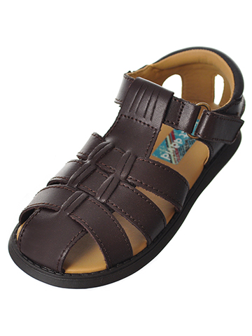 Scott David Boys' Sailor Sandals (Sizes 5 – 10) - CookiesKids.com