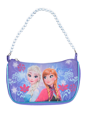 "Disney Frozen ""Frozen Floral"" Shoulder Purse - CookiesKids.com"