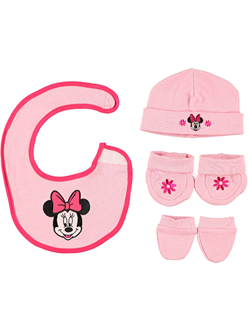 "Minnie Mouse ""Blossom Mouse"" 4-Piece Accessories Set - CookiesKids.com"