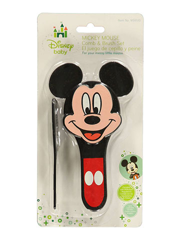 "Disney Mickey Mouse ""Famous Mouse"" Brush & Comb Set - CookiesKids.com"