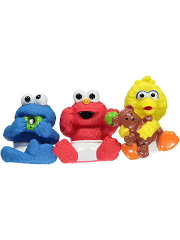 Sesame Beginnings 3-Pack Squirter Friends - CookiesKids.com