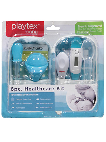 Playtex 6-Piece Baby Healthcare Kit - CookiesKids.com