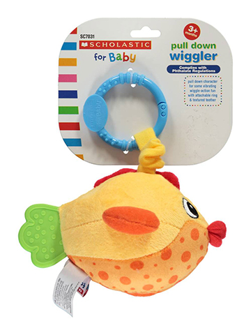 Scholastic for Baby Pull-Down Wiggler Fish - CookiesKids.com