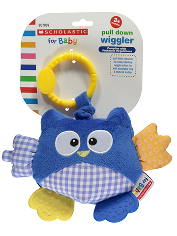 Scholastic for Baby Pull-Down Wiggler Owl - CookiesKids.com