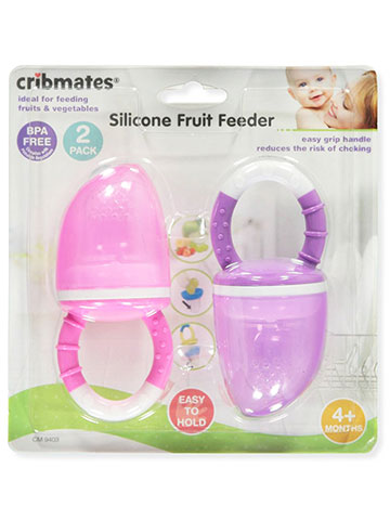 Cribmates 2-Pack Silicone Fruit Feeder - CookiesKids.com