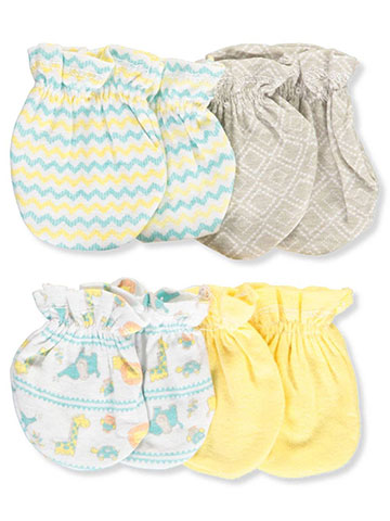 Cribmates Unisex Baby 4-Pack Scratch Mitts - CookiesKids.com