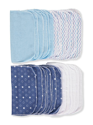 Cribmates 24-Pack Washcloths - CookiesKids.com