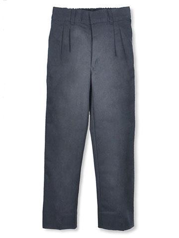 Rifle Little Boys' Pleated Pants with Elastic Waist (Sizes 4 - 7) - CookiesKids.com