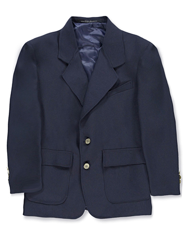 Rifle Single-Breasted Unisex School Blazer (Sizes 8 - 20) - CookiesKids.com