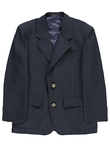 Rifle Husky Single-Breasted  Unisex School Blazer (Sizes 10H - 20H) - CookiesKids.com