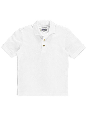 Kaynee Unisex S/S Pique Polo (Sizes 7 – 20) - CookiesKids.com