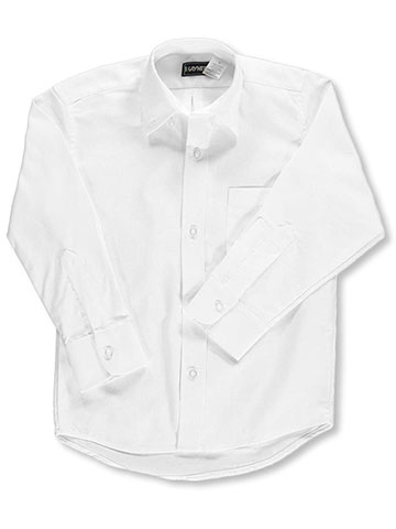 Kaynee Unisex' L/S Button-Down Shirt (Sizes 8 - 20) - CookiesKids.com