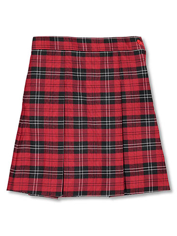 Rifle/Kaynee Big Girls' Box Pleated Skirt (Sizes 7 – 20) - CookiesKids.com