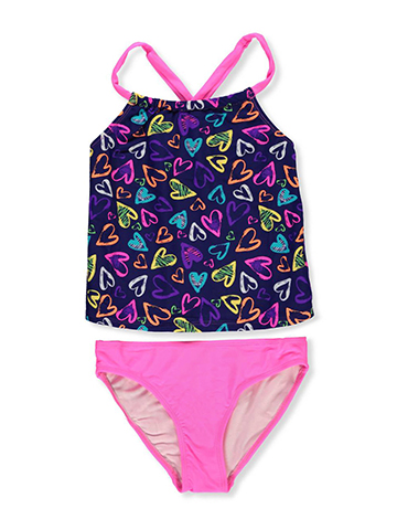 Freestyle Revolution Girls' 2-Piece Tankini - CookiesKids.com
