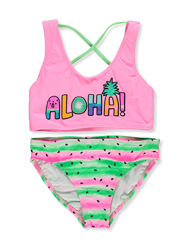 Freestyle Revolution Girls' 2-Piece Bikini - CookiesKids.com