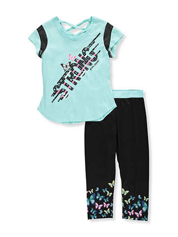 Girl Squad Girls' 2-Piece Pants Set Outfit - CookiesKids.com