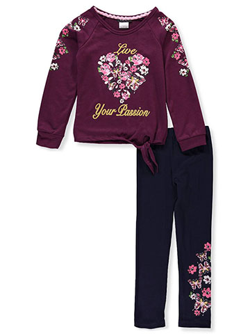 RMLA Girls' 2-Piece Leggings Set Outfit - CookiesKids.com