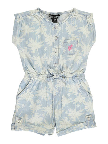 "Rocawear Baby Girls' ""Ruched Palms"" Romper - CookiesKids.com"