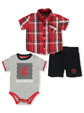 Rocawear Baby Boys' 3-Piece Outfit - CookiesKids.com