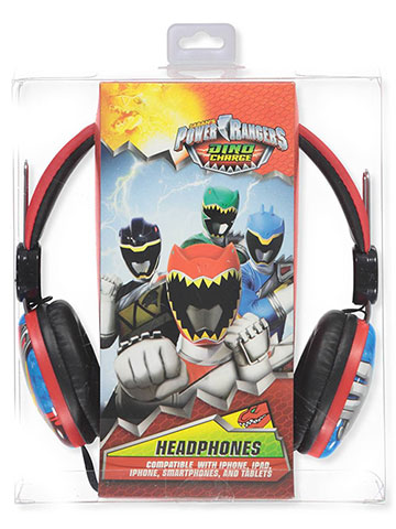 Power Rangers Headphones - CookiesKids.com