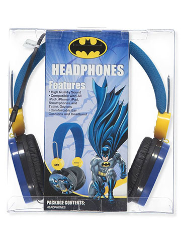 Batman Headphones - CookiesKids.com