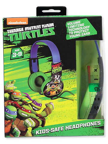 TMNT Headphones - CookiesKids.com