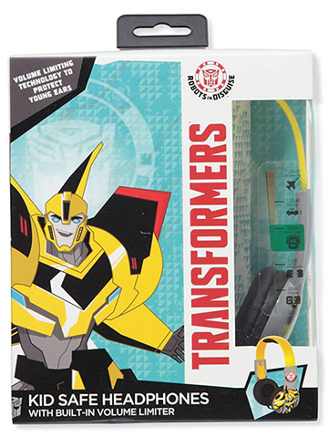 Transformers Headphones - CookiesKids.com