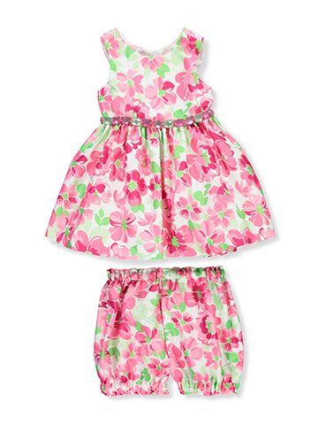 American Princess Baby Girls' Dress with Diaper Cover - CookiesKids.com