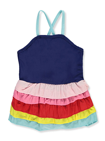 Sweet & Soft Baby Girls' 1-Piece Swimsuit - CookiesKids.com
