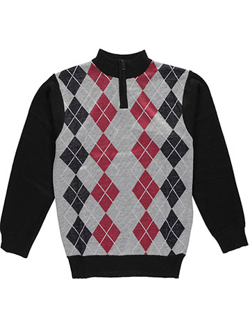 "American Legend Outfitters Big Boys' ""Homeroom"" Zip-Up Sweater (Sizes 8 – 20) - CookiesKids.com"