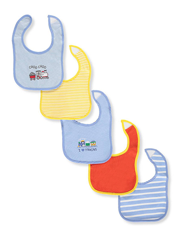 Little Me 5-Pack Bibs - CookiesKids.com