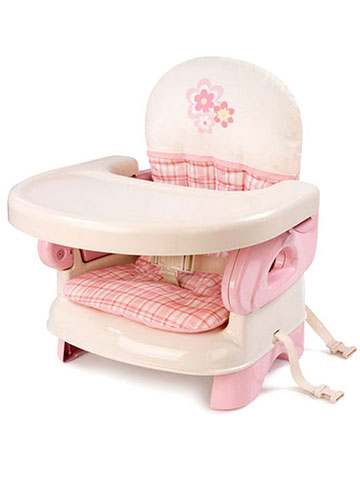 Summer Infant Deluxe Folding Booster Seat, Pink   CookiesKids.com