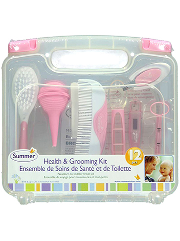 Summer Infant 12-Piece Health & Grooming Kit - CookiesKids.com