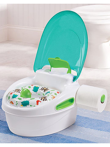 Summer Infant Boys' Step-By-Step Potty - CookiesKids.com
